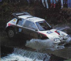 Timo Salonen Peugeot 205 Turbo 16 Evo