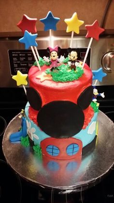 Mickey club hp use cake