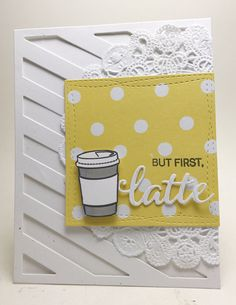 Thanks a latte my crafty peeps! This really will be my last post for this Spring Coffee Lovers Bloghop , I didn't set out to beat my #...