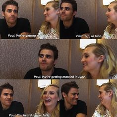 {TVD obsession: Day 7} Fav Cast Friendship- Wescola ��❤️ _ They are so cute �� _ #stefan #salvatore #caroline #forbes #candice #accola #king #paul #wesley #tvd http://misstagram.com/ipost/1553122689278262377/?code=BWNzNtrB7xp