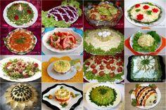 Подборка салатов на Новый год 2016