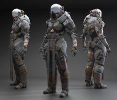 ArtStation - Murdock Droid, Zak Foreman