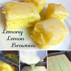 Lemony Lemon Brownies di Michael Teka - Recipefy