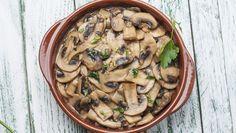O cogumelo é uma excelente opção de proteína vegetal!