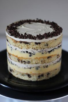 chocolateguru:  Momofuku Milk Bar Chocolate Chip Layer Cake