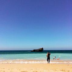 dailybreakfast   Praia do Tonel - Sagres Windy + last day in beautiful Algarve