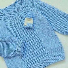 Knitting patterns boys sweaters crochet cardigan 38 new ideas Baby Cardigan Knitting Pattern Free, Baby Boy Knitting Patterns, Baby Sweater Patterns, Knit Baby Sweaters, Knitted Baby Clothes, Knitting For Kids, Baby Patterns, Boys Sweaters, Crochet Cardigan