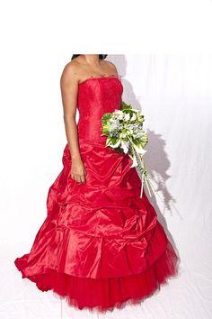 Robe de mariée Cymbeline Créole Rouge