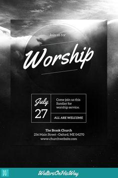 diy church event flyer template heavenly worship for Charity Fundraiser Event Flyer Template diy church event flyer template heavenly worship for 50 captivating flyer examples templates and design tips u... Graphic Design Flyer, Church Graphic Design, Event Poster Design, Church Design, Graphic Design Templates, Event Posters, Poster Designs, Movie Posters, Flyer Design Inspiration