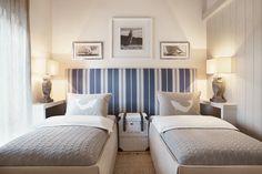Small bedroom. Turn the nightstands. Aleksandra Miecznicka » MasuriaArte Domek