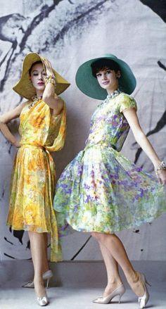 Régi idők divatfotói - Christian Dior 1961 - Strange's fashion & gossip