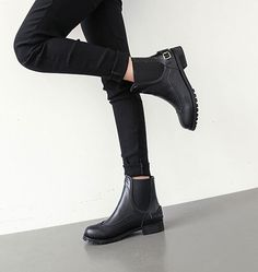Preppy Casual Boots