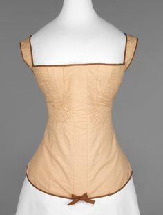 1815-25 Corset | American | The Metropolitan Museum of Art