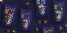 Adam's Cold-Pressed Chocolate on Packaging of the World - Creative Package Design Gallery