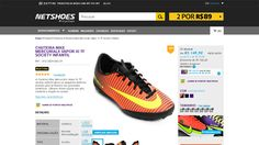 3606dd16f0  Netshoes  Chuteira Nike Mercurialx Vapor XI TF Society Infantil - Unissex  - 0886737603079 - de R  223