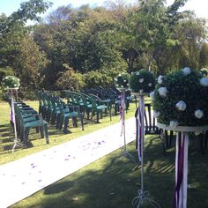 Wedding ceremony decoration wedding pinterest floral arch topiary and rose garden wedding at st margarets cafe karaka auckland junglespirit Images