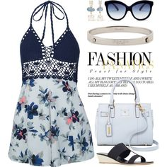 Floral Playsuit 1731 by boxthoughts on Polyvore featuring New Look, Tignanello, Coach, Melissa Joy Manning and Italia Independent