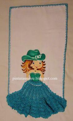 PINTURAS MEIRE: bonecas e crochê