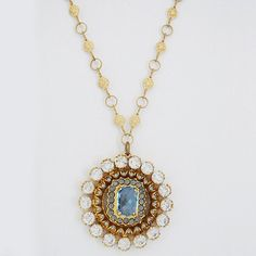 Vintage Crystal Pendant By Catherine Popesco - Catherine, Crystal, pendant, Popesco, Vintage - http://designerjewelrygalleria.com/catherine-popesco/vintage-crystal-pendant-by-catherine-popesco/