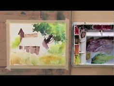 In Color Techniques for Expressive Watercolor, playing now on http://ArtistsNetwork.tv, artist Sterling Edwards shows you how to use color for maximum results no matter what your subject!