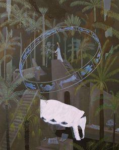 Yosuke Yamaguchi (was born In Tokyo, Japan) Painting Inspiration, Art Inspo, Nostalgic Art, Funky Art, Yamaguchi, Love Illustration, Japanese Artists, Fantastic Art, Looks Cool