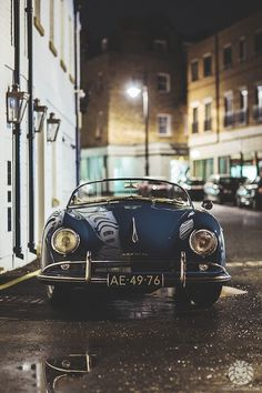 One of my many dream cars, Porsche 356 Speedster Volkswagen, Sexy Cars, Hot Cars, Retro Cars, Vintage Cars, Retro Bike, Antique Cars, Retro Vintage, My Dream Car