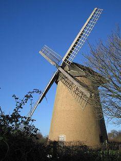18Cen Bembridge Windmill, c 1700, Isle of Wight, England
