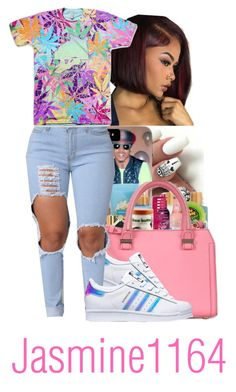 """""""✨"""" by jasmine1164 ❤ liked on Polyvore featuring adidas"""