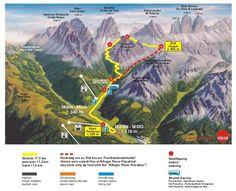 #Südtirol Drei Zinnen Alpine Run 2013 #Strecke / #Course / #Map
