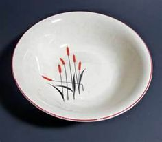 Universal Pottery - Cattail bowl
