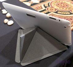 Cubierta de iPad que se dobla de muchas maneras | PoderPDA