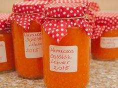 Narancsos sütőtök lekvár recept