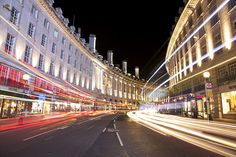 Regent Street Light Trails