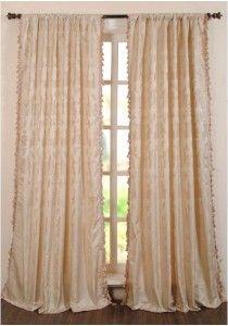 "Curtain Jacquard Floral Dox Violet 96"""