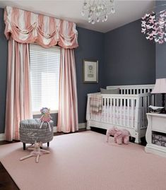 Bring Up Baby In Style From Day One – 30 Lovely Girl Nursery Room Design Ideas Nursery ideas and inspiration #nursery #inspiration #baby