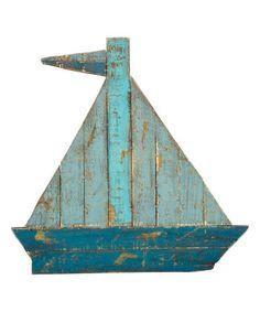 Sailboat Wall Art decobreeze blue & white corfu sailboat décor | sailboats, corfu