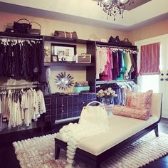 i'm going to have my dream closet one day!