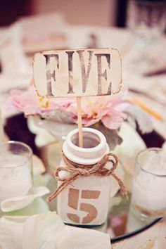 adorable table numbers