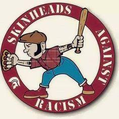 Skinheads Against Racism Skinhead Reggae, Skinhead Girl, Skinhead Fashion, Skinhead Style, Skinhead Tattoos, Anarcho Punk, Punk Poster, Skin Head, Rude Boy