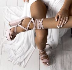 shoes strappy heels heels