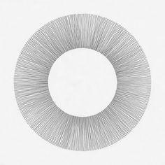 ●●●●●●●●●● ●●●●●● Drawing by Cyril Galmiche #circle #line #drawing #circular #round #geometry #screenprinting #minimalism #worksonpaper #Handmade #Bw #Blackandwhite #circular