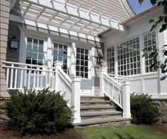 outdoor stairs/doors