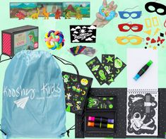 Kids activity pack for keeping them entertained with travelling Kids Travel Activities, Travel Kits, Ultimate Travel, Business For Kids, Travel With Kids, Travelling, Packing, Entertaining, Bag Packaging