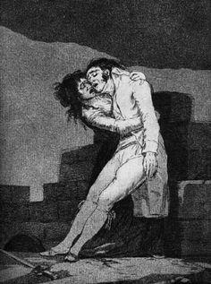 Goya, Francisco de (b,1746)- F- 'Caprichos' Plate 10