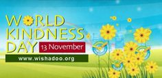 It's World Kindness Day 2013