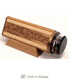 Wooden Kaleidoscope Cosmos 2 Mirror with Wooden Inlaid By the Durettes 2012-10