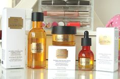 The Body Shop | Oils Of Life--amazing moisturizers for aging skin that don't cause blemishes.