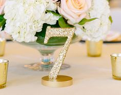 Table Number Words Rustic Wooden Words for Table by ZCreateDesign