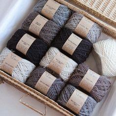 """Twirling Black Lambs"" yarn"