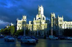 Palacio de Correos, Madrid, España.